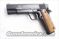 Rock Island 1911A1 MSP Commander .45 ACP Armscorp 4 1/4 inch Parkerized Detonics ty Barrel Full Length Guide Rod NIB 1 8 shot magazine Series 70 style no FP Safety 51417