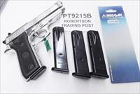 Taurus PT92 PT99 9mm Mec-Gar 15 round Magazines Blue Steel NIB 92C can be fitted for PT911 PT915 PT917 PT9215B Buy 3 Ships Free