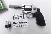 Smith & Wesson .38 Special model 64-5 Stainless 4 inch Heavy Barrel Traditional Single & Double Action 1989 VA Dept of Corrections 38 Spl +P Mod. 64 S&W 162506 ancestor