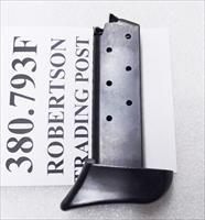 Colt .380 Mustang Sig P238 Metalforms OEM 7 Round Magazines SPC55691B type Extended Finger Rest Buy 3 Ships Free!