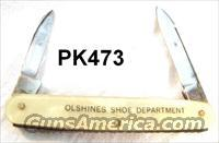Knife Kutmaster Shoe Advertiser Imit. Pearl ca. 1940s VG-Exc
