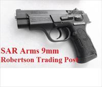 CZ75 P01 Clone SAR Arms EAA 9mm model SARB6P9 Compact 3 Dot Sights 14 shot 1 Magazine Commander Hammer 3 1/2 inch K2 K-2 CZ Mag Compatible 400424 Compatible with CZ75 and Baby Eagle Magazines