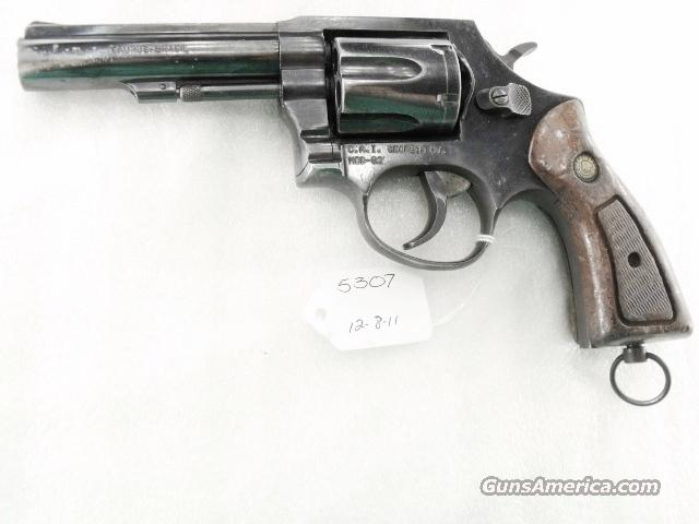 Taurus  38 Special Model 82 Blue 4 inch 1980s Pre-Lock Heavy Barrel 38 Spl  6 Shot Steel Frame TT TH Good Condition