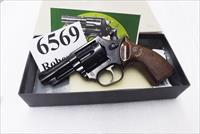 Astra Spain .38 Special Police model Large Frame Revolver 6 Shot 3 inch Blue Steel Walnut Grips Very Good 1986 Spanish Production, Venezuela Homeland Security Issue Original Box +P OK
