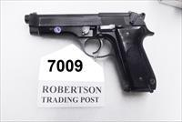 Beretta 9mm model 92S Italy Military Police Italian Carabinieri JS92F300M type / ancestor c1978 16 Round 1 Pre-Ban Magazine Gloss Anodized Frame Factory Oxide Barrel Brunitron Slide Good 7GM