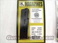 Star model BKS 9mm Triple K 8 Shot Blue Steel Magazines NIB BKS only no B no BM no BKM no BS 752M Buy Three Ships Free!