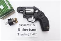Taurus .38 Special +P Model 85 Stainless Poly Protector Snub Nose 38 Spl 2 inch 18 oz New in Box 2850029PFS