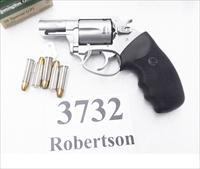 Charter Arms .38 Special Undercover Stainless 2 inch 5 Shot Lightweight Snub 2007 Production 73820 VG