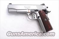 Ruger .45 ACP Model SR1911CMD Combat Commander type 4 1/4 inch Stainless XSE Custom Grade Features Brand New 2 Magazines 45 Automatic SKU 06702 SR1911CMD