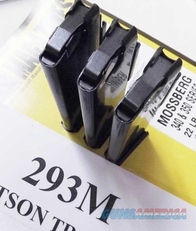 Mossberg  22 LR models 340 340A 340B 340M 342 342K 344 344K 346K 346B 350  350K 351 352 352K 353 Rifles Triple K 10 Shot Magazine New Blue 3 Items  ship