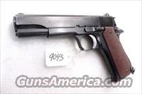 Star Spain 9mm Model BS Colt Government Size Steel Frame 1971 Israeli Police VG 1 Magazine