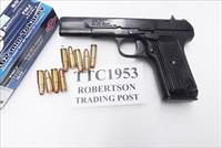 Cugir 7.62x25 TTC Russian TT33 type Romanian Army Exc Reblue Safety 9 Shot 2 Mags Holster Romanian Army 1953 Production C&R CA OK