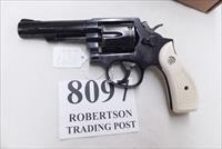 Smith & Wesson .38 Special Model 10-10 Blue 4 inch Heavy Barrel 1998 Very Good Cond Round Butt with Imitation Ivory Magna Grips
