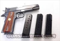Colt 1911 Government .45 ACP ACT-Mag 8 round Blue Steel Magazines CG4508PFB competitor New Bright Blue 45 Automatic Govt Model Pistols Armscor Kimber Buy 3 Ships Free!