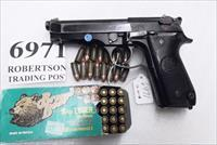 Beretta 9mm model 92S Italy Military Police Italian Carabinieri VG 1979 Patanè Family Issue JS92F300M type / ancestor c1978 with 16 Round with 1 Pre-Ban Magazine