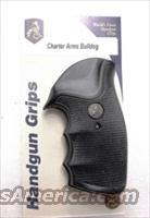 Charter Arms Revolver Grips Pachmayr Gripper Undercover Bulldog New GRCHAG Finger Groove Combat type Shock Absorbing
