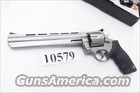 Taurus .44 Magnum model 44 Stainless 8 3/8 inch Ported Full Lug Black Blade Adjustable 44 Mag Special Interchangeably Double Action Revolver 2440089