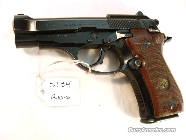 Beretta  32 ACP Cheetah 81-BB Blue 1987 Israeli Italian VG 1 Mag Model M81  M-81 Israeli Police 32 Automatic