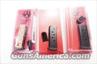 Lots of 3 or more Ruger .380 LCP Factory 6 Shot Magazines NIB 2 Floorplates Each Finger Rest Flat Plate $33 per on 3 or more