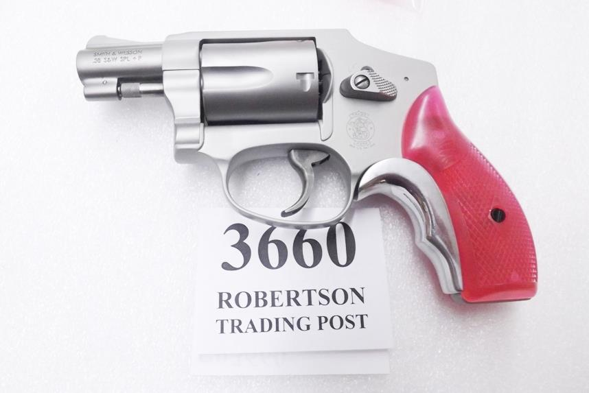 S&W J Frame Hot Pink Revolver Grips for Smith &... for sale