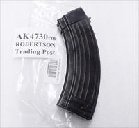 10 AK47 Magazines 30 Round All Steel KCI Korea 7.62x39 AK Semi 76239 New Steel Teflon Finish AK4730RM Ships Free!