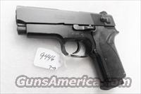 Smith & Wesson .45 ACP model 457 Compact Lightweight 3 3/4 inch Matte Blue 3 Safeties Syracuse NY PD 1996 First Year of Production VG