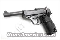 Walther 9mm P38 Lightweight Military 1960 P-38 German Federal Border Guard BGS CA C&R OK with 1 Factory 8 Shot Magazine