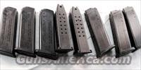 Lot of 4 Magazines H&K 9mm USP Factory 15 Shot LE Marked 10-94 VG-Exc USP 9 214305 High Capacity