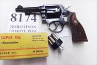 Smith & Wesson .38 Special Model 10-5 Pencil 4 inch 1972 Montreal Police Department Blue with Magna Grips