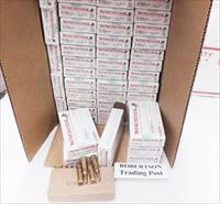 Ammo: .223 Winchester 50 Box Factory Case of 1000 rounds 55 grain FMC Full Metal Case Jacket Ammunition Cartridges Q3131 $7.78 per box 39 cents a round delivered. Free Shiping.