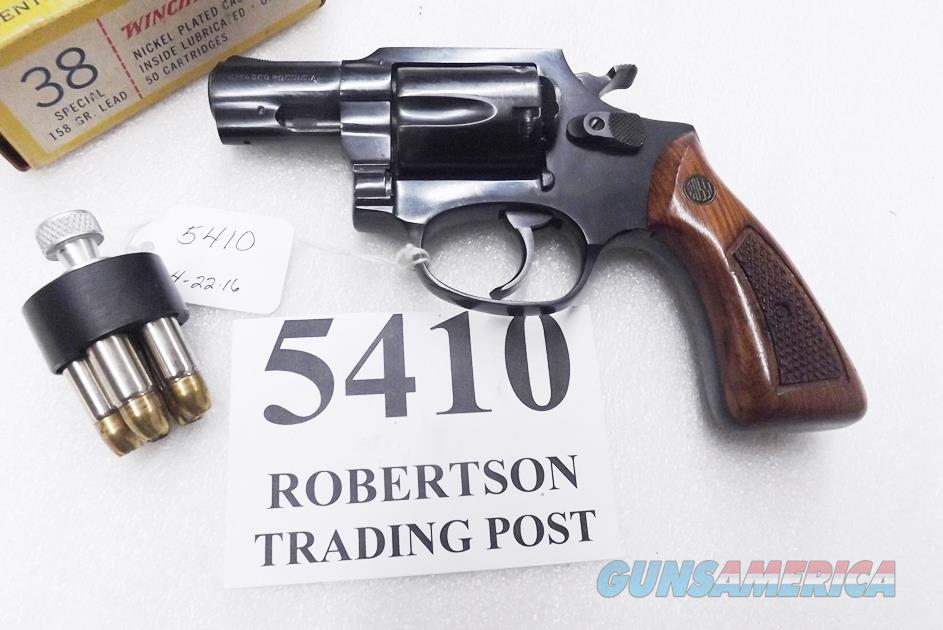 Rossi  38 Special model 68 Blue 2 in Snub 5 Shot Goncalo Magna Grips 38  Smith & Wesson Special Caliber 36 Chief's Special Copy Interarms 1992 Pre  Lock