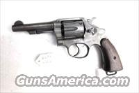 Smith & Wesson .38 Special Victory Model ca 1943 Illinois State Police Marked Good