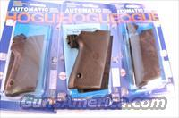 Grips for Smith & Wesson 9mm Compact 3900 type Only Hogue Combat New GR13010 S&W Models 3913 3953 908 908S No Decocker No Double Stack