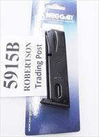 Smith & Wesson 5906 Magazines 15 Shot Mec-Gar New Blue S&W models 59 459 659 5903 5906 5946 Star 28 30 Kel-Tec SUB 2000 SW5915B Buy 3 Ships Free!
