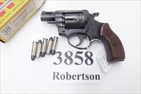 Rohm .38 Special RG31 Snub Nose 2 inch 5 Shot early 1980s Production 38 Smith & Wesson Special Caliber