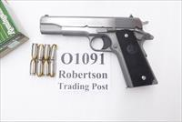 Colt .45 ACP Stainless Government Model NIB 45 Automatic 1911 O1091 California Compliant CA OK ***Free Goods Promo expires 12/31/15