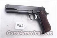 Star 9mm Model B Colt Government Size Steel Frame 1967 Israeli Police & Spanish Guardia GVG 1 Factory Magazine Spain