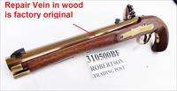 Davide Pedersoli .50 Kentucky Flintlock Pistol 020S310500 with Original Factory Stock Repair Otherwise Mint Unfired 1990 Production