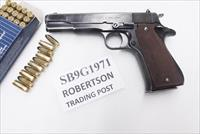 Star 9mm model B Super Spanish Army 1971 Good 5 inch Blue Colt Government Size 9 Shot 1 Magazine Super B