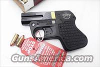 Double Tap 9mm Derringer Non Ported Alloy Black Matte Flat Thin Light DT009 Tactical Pocket Pistol