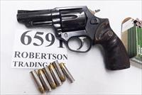 Astra Spain .38 Special Police model Large Frame Revolver 6 Shot 3 inch Blue Steel Walnut Grips Very Good 1985 Spanish Production, Venezuela Homeland Security Issue +P OK