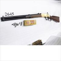 Uberti .38 Special Winchester 1866 Yellowboy Carbine Navy Arms Import 1963 Very Good 19 inch 11 Shot 38 Spl 342200 C&R OK