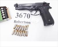 Beretta 9mm model 92FS 16 Shot 1 Magazine Police Special 1996 Benton County Washington Sheriff Dept. PS9219F