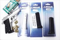 3 Walther PP or PPKS .32 ACP Mec-Gar 8 Shot Magazines Blue Steel Finger Rest 32 automatic WPP32FRB $29 per on 3