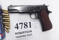 Star 9mm model B Super Spanish Army 1970 Very Good 5 inch Blue 9 Shot 1 Magazine Super B Colt Government Size