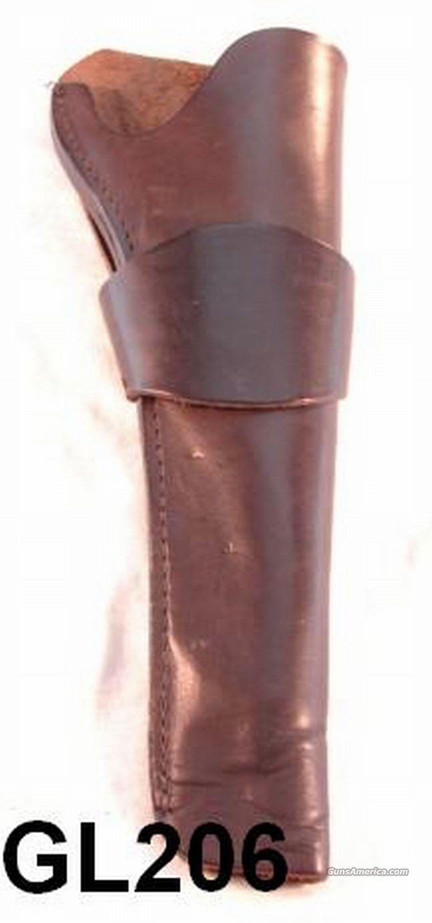 Leather 9 1/2 inch holster Colt Walker or Smaller