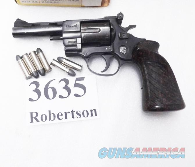 EAA Windicator Ancestor  38 Special FIE HW38T Arminius Weirauch Germany 4  inch 6 Shot Adjustable Vent Rib Target Grips VG 1975 Production Standard 38