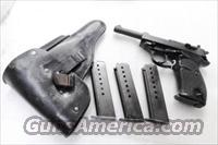 Walther P1 P38 9mm Factory German Magazine 8 Shot Parkerized VG-Exc 1970s German Federal Police