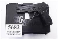 Sig 9mm P-226 All German 16 Shot 2003 Swiss Police St. Gallens Shield Box Manual Weak Siglite with 1 Factory Magazine E26R9BSS