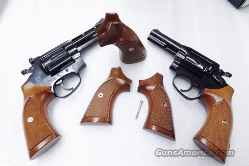 Rossi Revolver Grips Sile Italian Walnut fit Current Production Rossis  incl  Models 68 88 351 352 461 462 851 971 972 Modified from Old Stock S&W  J
